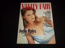 1994 MAY VANITY FAIR FASHION MAGAZINE - JODIE FOSTER COVER - J 1084
