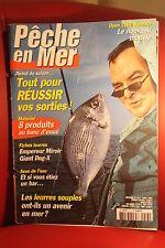PECHE EN MER N° 213 AVRIL 2003  Toutes les techniques de  pêches en eau salée