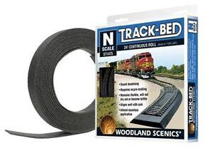 Woodland Scenics 1475  N TRACK-BED ROADBED 24' ROLL  WOO1475-NEW