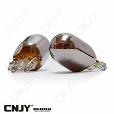 2 AMPOULES CHROME ORANGE WY21/5W W21/5W T20 7443 ECLAIRAGE ORANGE REPETITEUR 12V