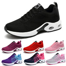 Women's Air Cushion Athletic Sneakers Sport Walking Breathable Running Shoes Gym