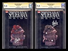 """SPIDER-MAN REIGN 1 SET CGC 9.8 SS STAN """"THE MAN"""" LEE RECALLED SOLD OUT HOT RARE"""