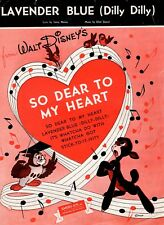 3 Disney Song hits 1944-49 from live action/animation features