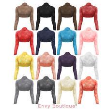 Vêtements boléros, cache-épaules pour femme taille 40
