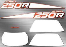 1988 88' honda TRX ATV 250R 7pc Decals Stickers Fourtrax Graphics Kit