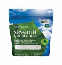 Seventh Generation  Free & Clear Scent Pods  Dishwasher Detergent  12.6 oz.