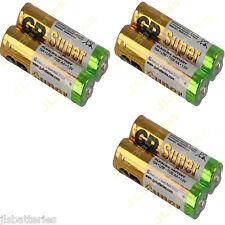 6x AA GP Super Pilas Alcalinas LR6 15a 1.5v DATED 2021 Baterías