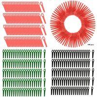 100Stk Kunststoffmesser Ersatzmesser Messer Nylon passt für Akku Rasentrimmer jc
