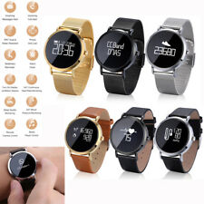 Men Women Bluetooth Smart Watch Heart Rate Monitor Fitness Tracker for LG Q8 Q7