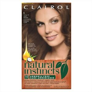 Clairol Natural Instincts 6 Former 13 Hair Color *Factory Sealed*