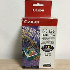 CANON BC-12E TESTINA INK JET ORIGINALE 4 COLORI FOTOGRAFICI BJC-85