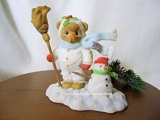 Cherished Teddies Frankie 2011 Dated Figurine NIB  SIGNED