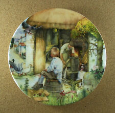 Old Country Crafts The Cooper Plate #10 Susan Neale Royal Doulton 1992 Htf + Coa