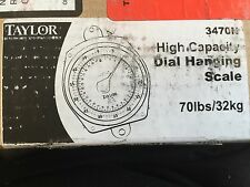 NEW TAYLOR 3470N DIAL HANGING SCALE