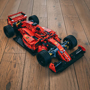 Car Formula F1 Sprort Racing MOC Technic Building Blocks Bricks Educational Toys