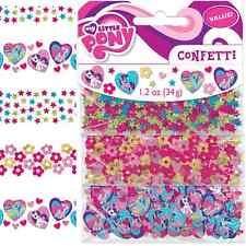 NEW My Little Pony Confetti 1.2oz. (Each) Kids Birthday Party Supplies