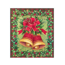 Christmas Bells Dishwasher Magnet Cover - Festive Kitchen Decor