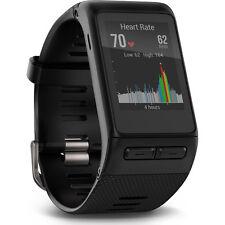 Garmin 010-01605-04 vivoactive HR GPS Smartwatch in Black - X-Large Fit