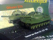"""1/72 Soviet experimental four tracked heavy tank """"Object 279"""" + magazine"""