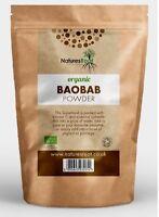 Organic Raw Baobab Fruit Powder - Vitamin C Superfruit Vegan * Premium Quality *