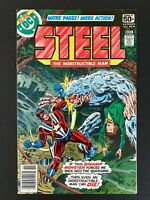 STEEL THE INDESTRUCTIBLE MAN #5 DC COMICS 1978 VF/NM NEWSSTAND