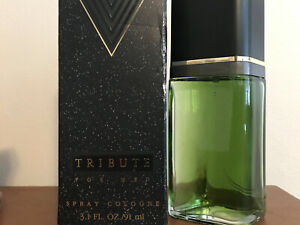 Tribute for Men Spray Cologne 3.1 fl oz by Mary Kay New in Box-Discontinued