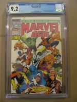 Marvel Age #12 (1984) CGC 9.2 NM- 1st Spider-Man black costume before A.S. #252