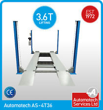 4 POST CAR LIFT / VEHICLE RAMP / PARKING LIFT / WITH MOBILE WHEEL KIT  3.6T 240v