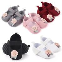 Baby Girl Flower Soft Sole No-slip Toddler Infant Newborn Princess Outdoor Shoes