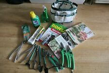 BONSAI TREE - TOOLS OUTFIT  and 4 Books