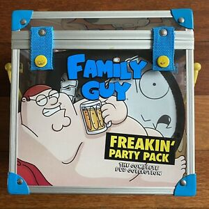 Family Guy Freakin' Party Pack. Seasons 1-6 (17 dvds) With Exclusive Merch