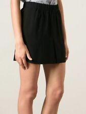Viscose Dry-clean Only Solid Mini Skirts for Women
