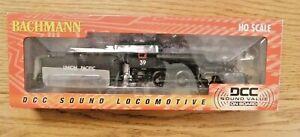 Bachmann UNION PACIFIC 2-6-0 Steam Locomotive #39 w/DCC Sound 51810 BOXED MINT.