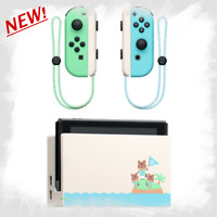 Nintendo Switch Animal Crossing Dock and Joy-Con ONLY Set New Horizons Japan NEW