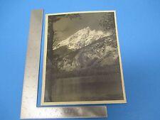 Vintage Photograph Original Canadian Rockies  M358