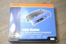 Linksys Cable Modem BEFCMU10 USB & Ethernet Connections