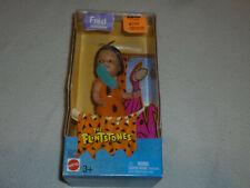 New In Box Kelly Doll The Flintstones Fred Flintstone Mattel 2003 Hannah Barbara