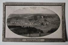 AK Panorama von BITSCH, Bitche - 1911, Präge-Passepartout-Karte