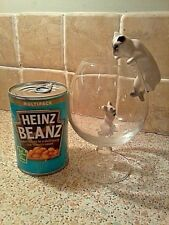 """""""RETRO"""" CAT & MOUSE WITH BRANDY GLASS, SET COMES IN BOX, WITH **FREE P&P**"""