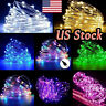 USB 5M/10M/20M LED Copper Wire String light Indoor Outdoor Decor Fairy Light US