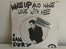 IAN DURY Wake up and make love with me 640142 Pochette photo
