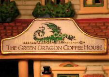 New England Dept 56 Green Dragon Coffeehouse! 56678 NeW! Mint! FabUloUs!