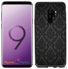 Black Damask Print For Samsung Galaxy S9 Plus + 2018 Case Cover