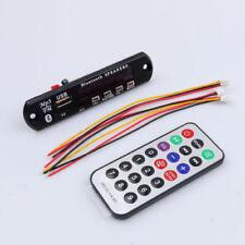 NEW Wireless Bluetooth 12V MP3 WMA Decoder Board Audio Module USB TF Radio Car