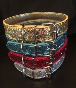 Glitter/ Sparkly Dog Collars - Perfect treat for that special Pooch - FREE P&P