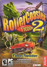 ROLLER COASTER TYCOON 2 II TIME TWISTER PC Game Expansion - NEW in BOX