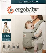 Ergobaby Omni 360 bebé niño portador 4 Ergo posición Honda Mochila-Gris