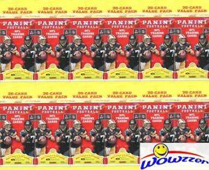(12) 2017 Panini Football Factory Sealed Jumbo Fat Packs-240 Card! MAHOMES RC YR
