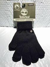 Timberland Lightweight Knit Magic Gloves, Touchscreen Technology, NEW, Black