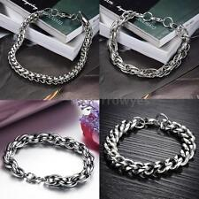 Stainless Steel Chain/Link Costume Bracelets without Stone